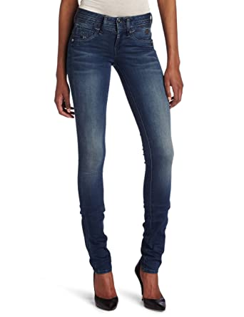 6ae3d830a9b Amazon.com: G-Star Raw Women's Heller Super Skinny Jean, Blue, 29/28 ...