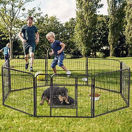 movable pet fence