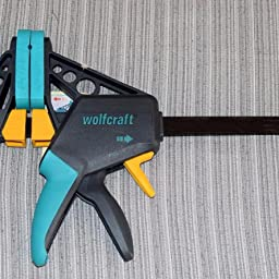 410mm Wolfcraft 3030000-1 34EHZ Pro 100-15034 Sargento monomanual 100 mm Largo