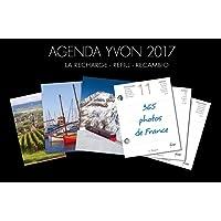 YVON Bloc recharge d'agenda éphéméride 2017