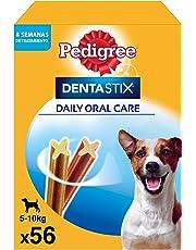 Pedigree Dentastix de uso diario para higiene oral para perros pequeños - 56 sticks
