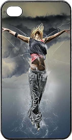 Coque Iphone 4/4S - Danseuse etoile et break dance: Amazon.fr ...