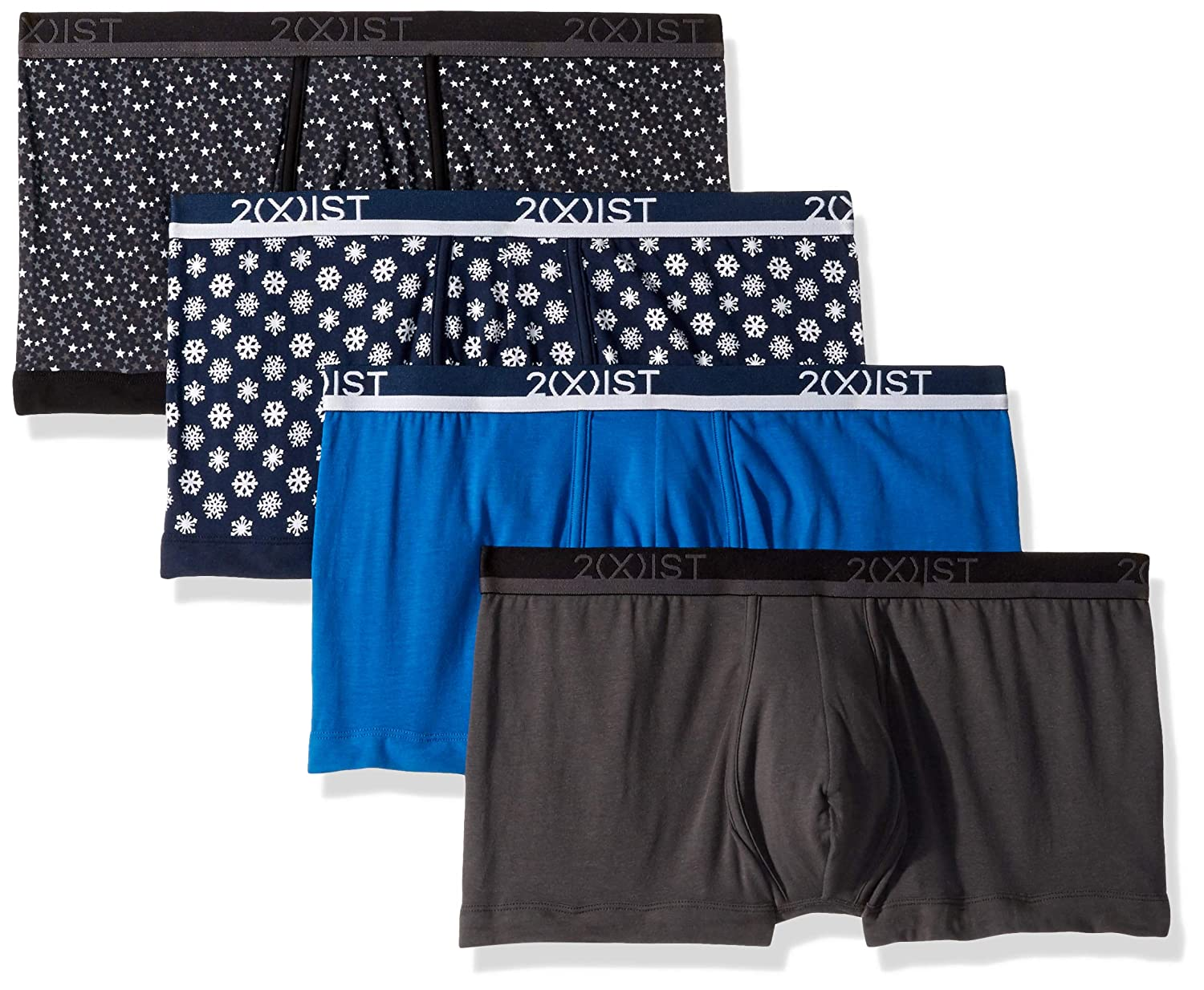 X 2 IST Mens Cotton No-Show Trunk 021333