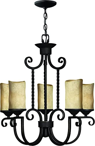 Hinkley 4015OL European Influence Five Light Foyer from Casa collection in Bronze Darkfinish,