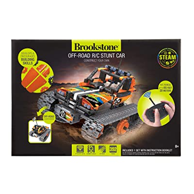 Brookstone Remote Control Stunt Car for Kids RC Car Building Set: Toys & Games [5Bkhe1005965]