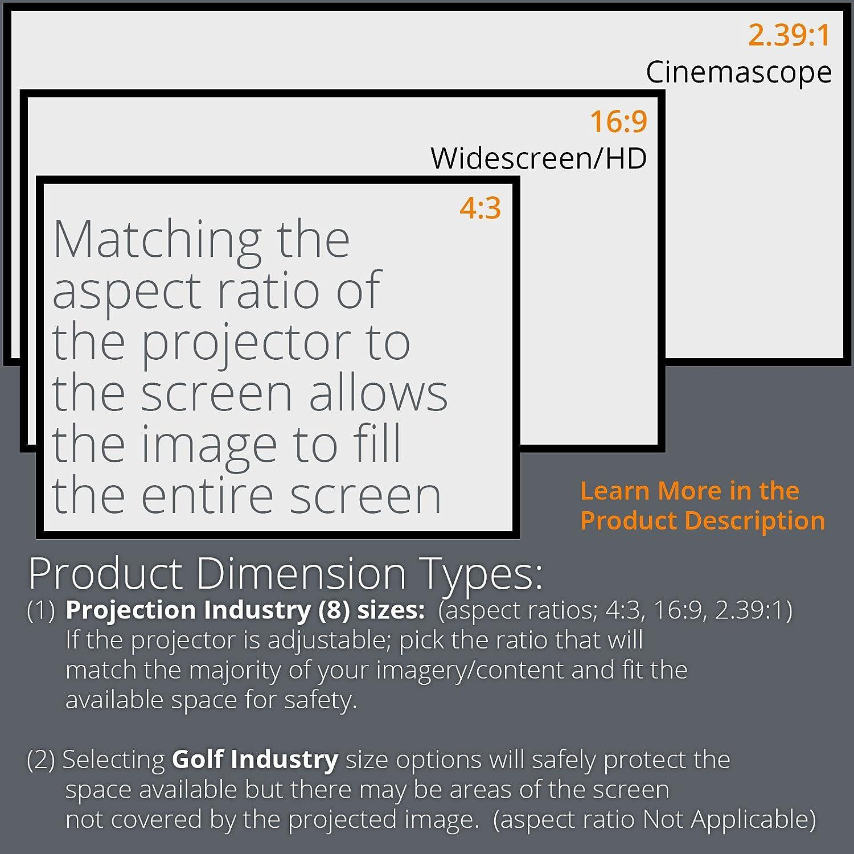 Amazon Carl s Golf Simulator Impact Screen Material Golf
