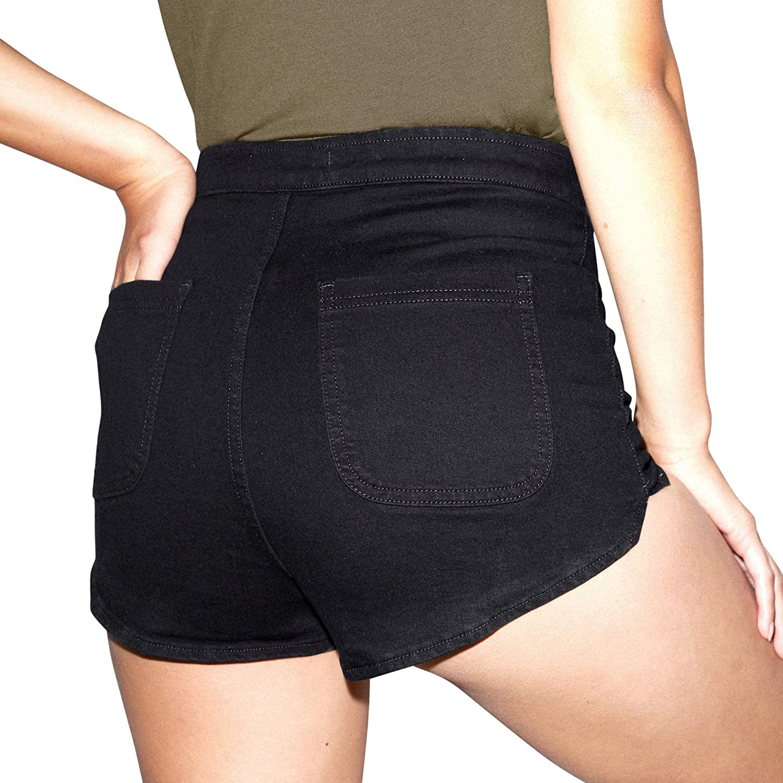 American Apparel Womens Easy Hot Short