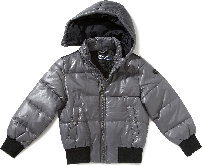 Geox Jungen Sportbekleidung Jacke 3 Jahre Gr. 14 Jahre, Grau