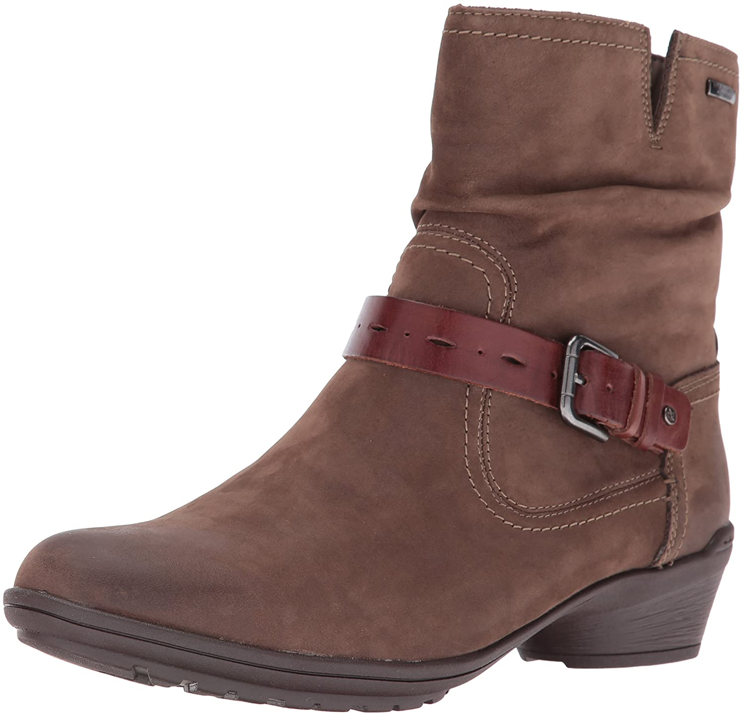 Rockport Women's Cobb Hill Riley Waterproof Boot B01AKA718I 8 W US|Stone