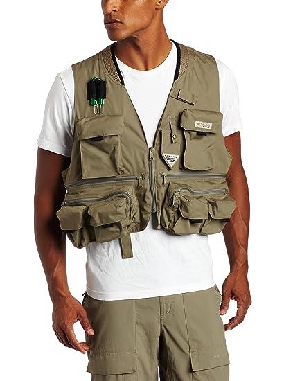 5d9ad2da3cc3c Amazon.com : Columbia Men's Henry's Fork III Fishing Vest (Sage, XX ...