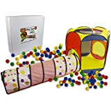 Play Tent with 100 Balls and Tunnel