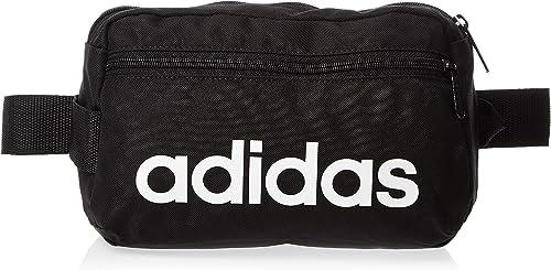 adidas Uni Linear Core Sport Gürteltasche, BlackBlackWhite, 39 cm