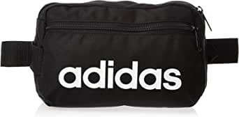 adidas Unisex Linear Core Waist Bag, Black (Black/White), One Size
