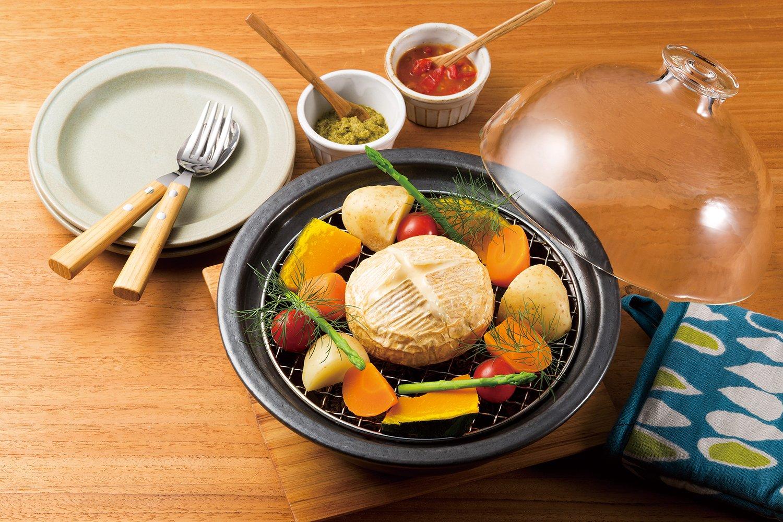 アデリア 土鍋 万古焼 燻製ができる鍋