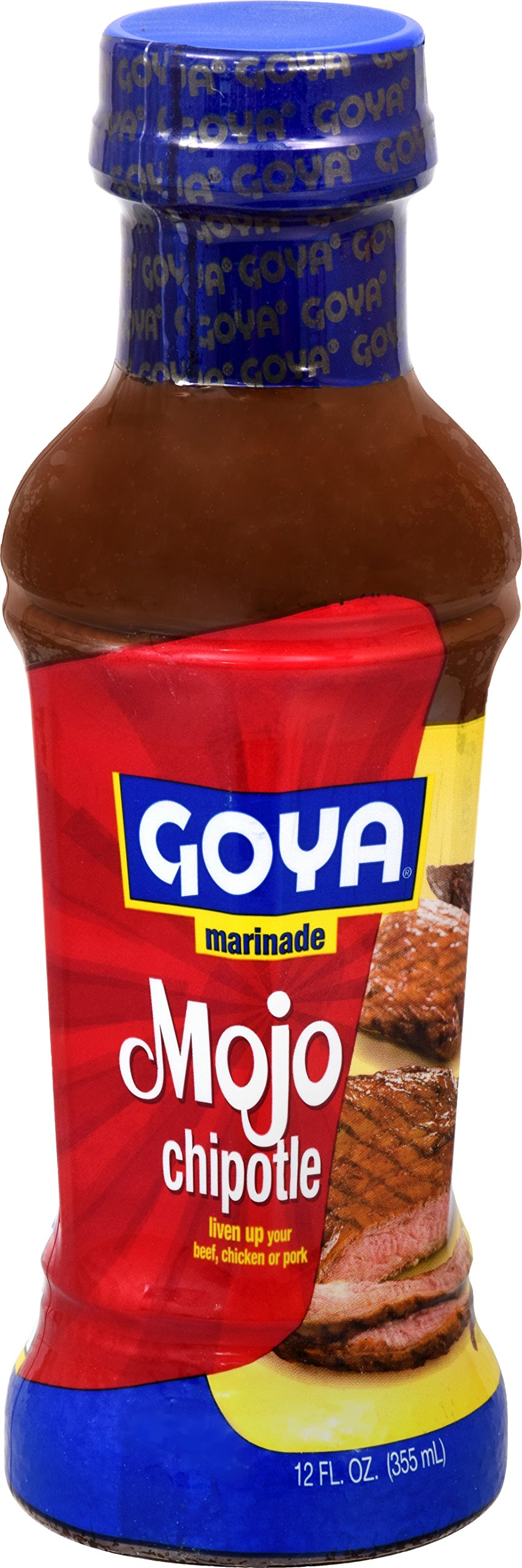 Goya Foods Chipotle Mojo Marinade, 12 Fluid Ounce (Pack of 12)