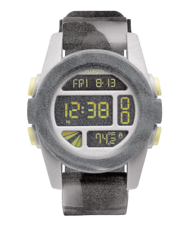 Nixon - Reloj Digital de Cuarzo para Hombre, correa de Silicona color: Amazon.es: Relojes