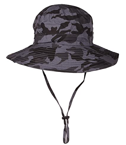 Image Unavailable. Image not available for. Color  Sumolux Outdoor Sun Wide  Brim Camouflage Fishing Cap Outdoor Hunting Hat f4da4f7d6fd9
