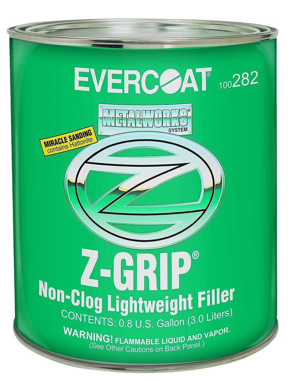 Evercoat 282 Z-Grip Non-Clog Lightweight Filler - Gallon (Blue cream hardener included)