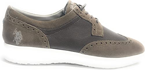 Scarpe UOMO US Polo Sneaker Casual Tristan Suede/Tessuto ...