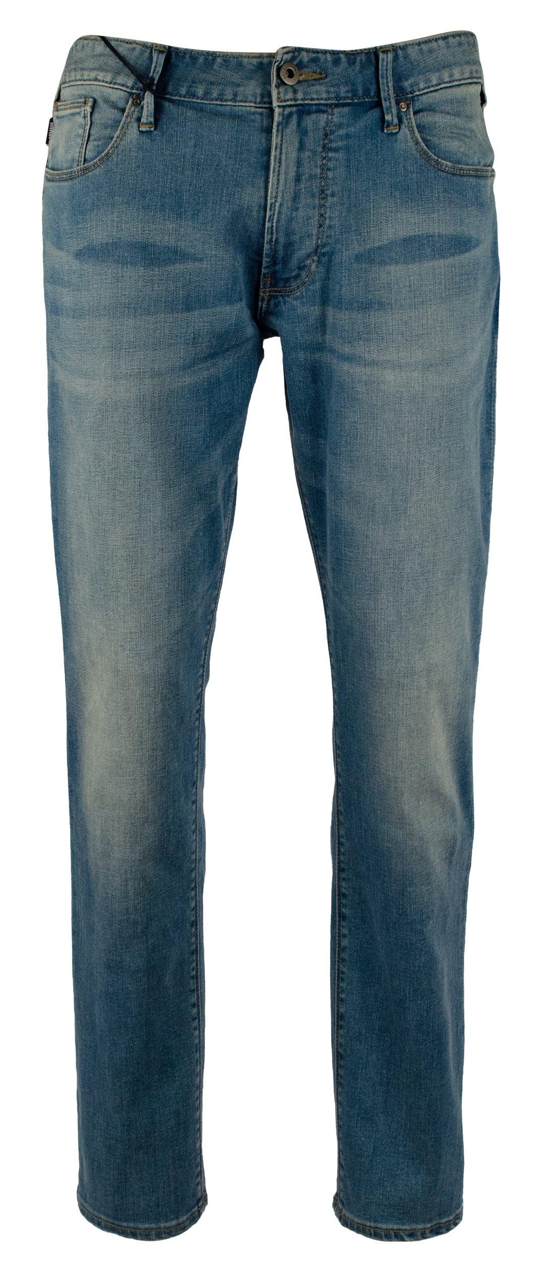 Armani Men's Slim J06 Fit Stretch Jeans Pants-B-36Wx30L by GIORGIO ARMANI