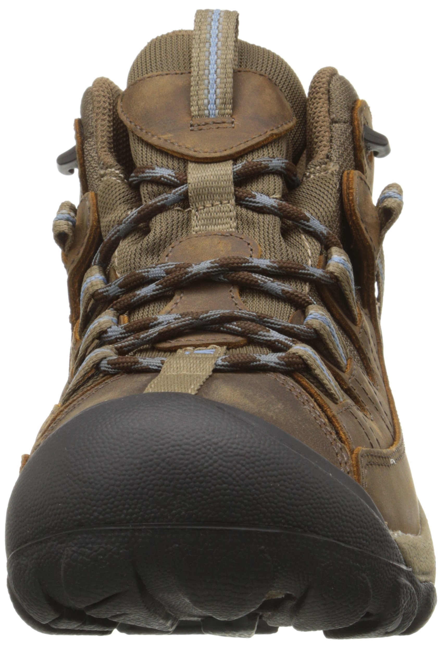 KEEN Women's Targhee II Mid Waterproof Hiking Boot,Slate Black/Flint Stone,8.5 M US by KEEN (Image #4)