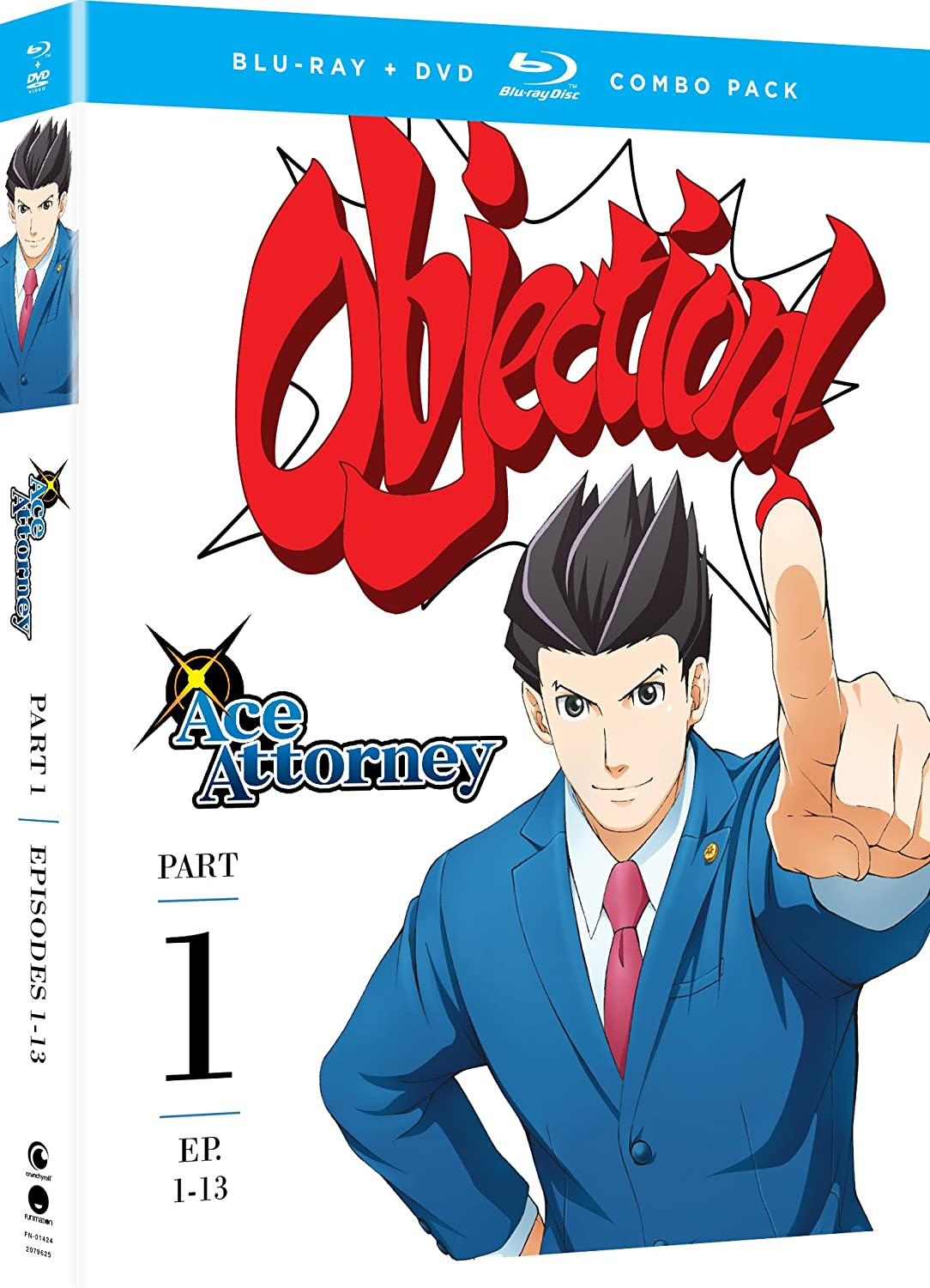Amazon Com Ace Attorney Part One Blu Ray Dvd Eric Vale