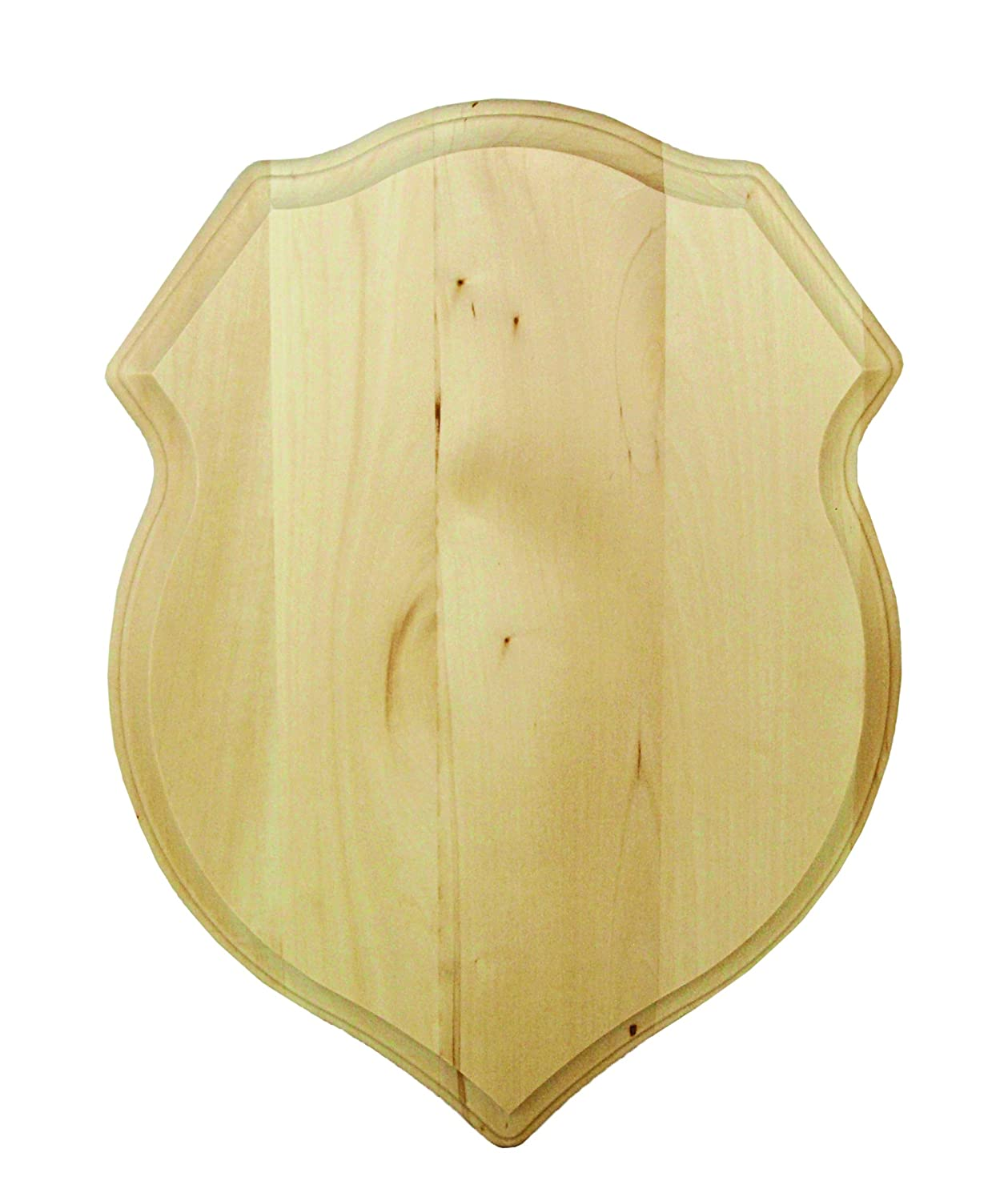 Walnut Hollow 38824 Basswood Shield Plaque, 12 by 16 12 by 16