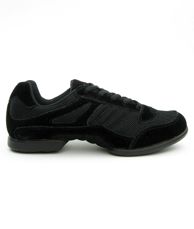 RUMPF Samba Sneaker chaussures de danse chaussons de Samba noir