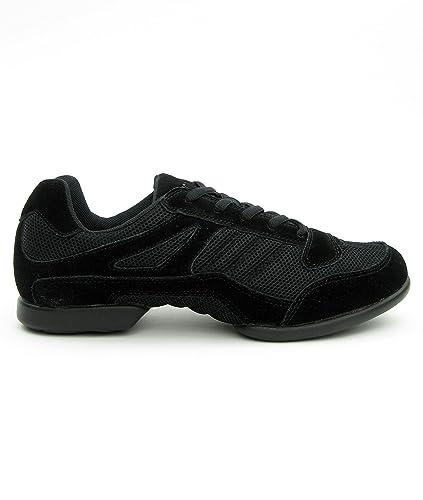 Auswahl Tanzschuhe schwarz, Trainingsschuhe schwarz Schuhe