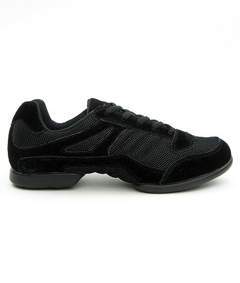 Rumpf Zapatillas de Danza Para Mujer, Color Negro, Talla 37.5