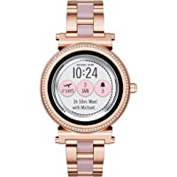 Michael Kors Access Women's Sofie Touchscreen Smartwatch, Color:Rose Gold-Toned (Model: MKT5041)