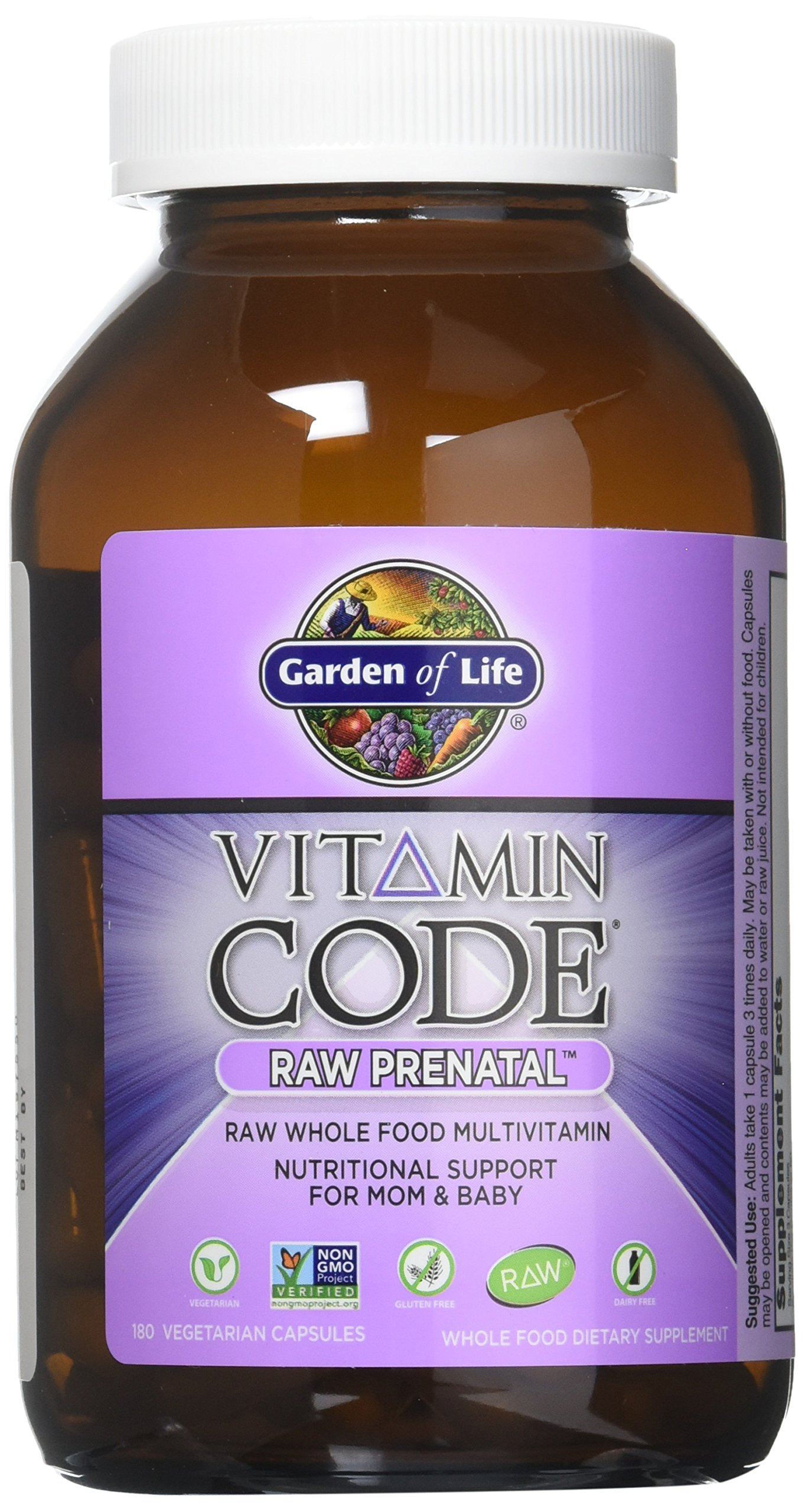 Garden of Life Vitamin Code RAW Prenatal, 90 Capsules by Garden of Life