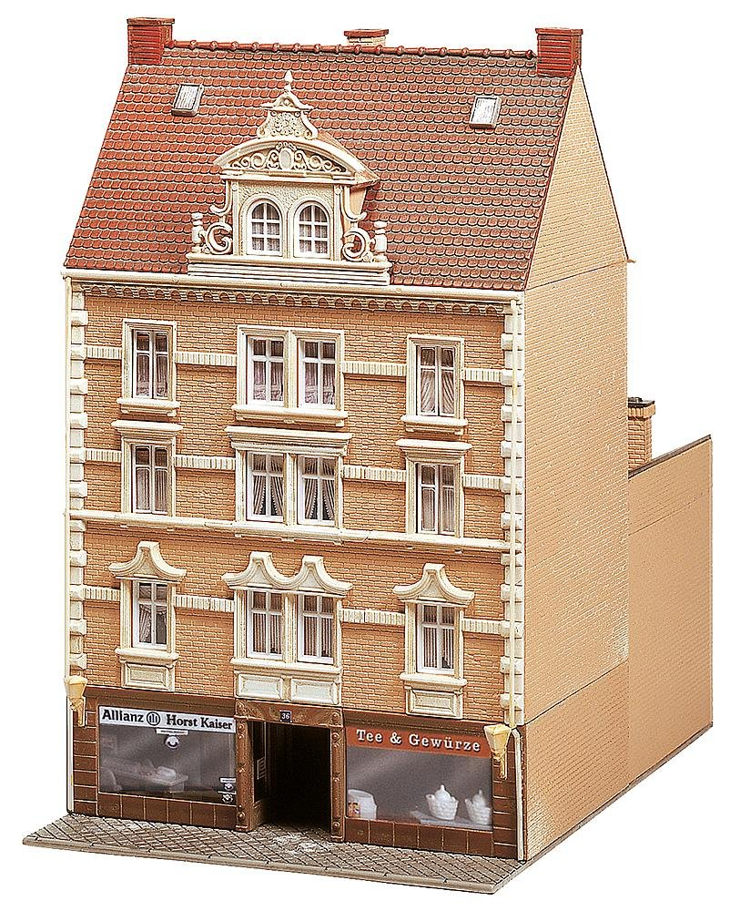 "FALLER 130448 - Stadthaus ""Allianz  + ""Tee & Gewürze B000KSQS12 Gebäude Charmantes Design | Komfort"