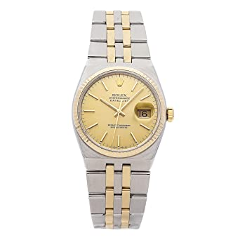 dedcb881f0a2 Image Unavailable. Image not available for. Color  Rolex Oysterquartz ...