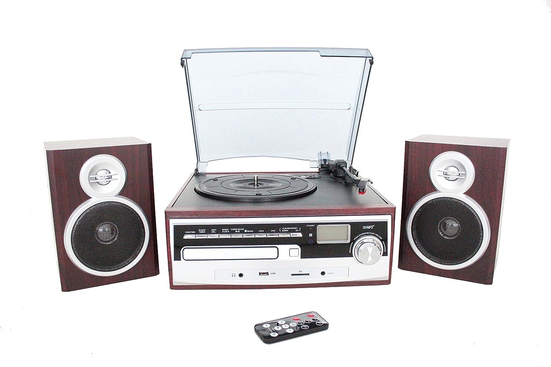 ABC home Electronics 30617 Equipo estéreo HiFi Retro Nostalgie ...