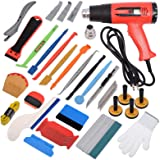 Gomake Car Tinting Vinyl Wraps Tool Kit for Film Wrapping Installation, Include Heat Gun, Micro Mini Squeegee, Film…