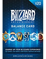 $20 Battle.net Store Gift Card Balance - Blizzard Entertainment [Digital Code] [Online Game Code]