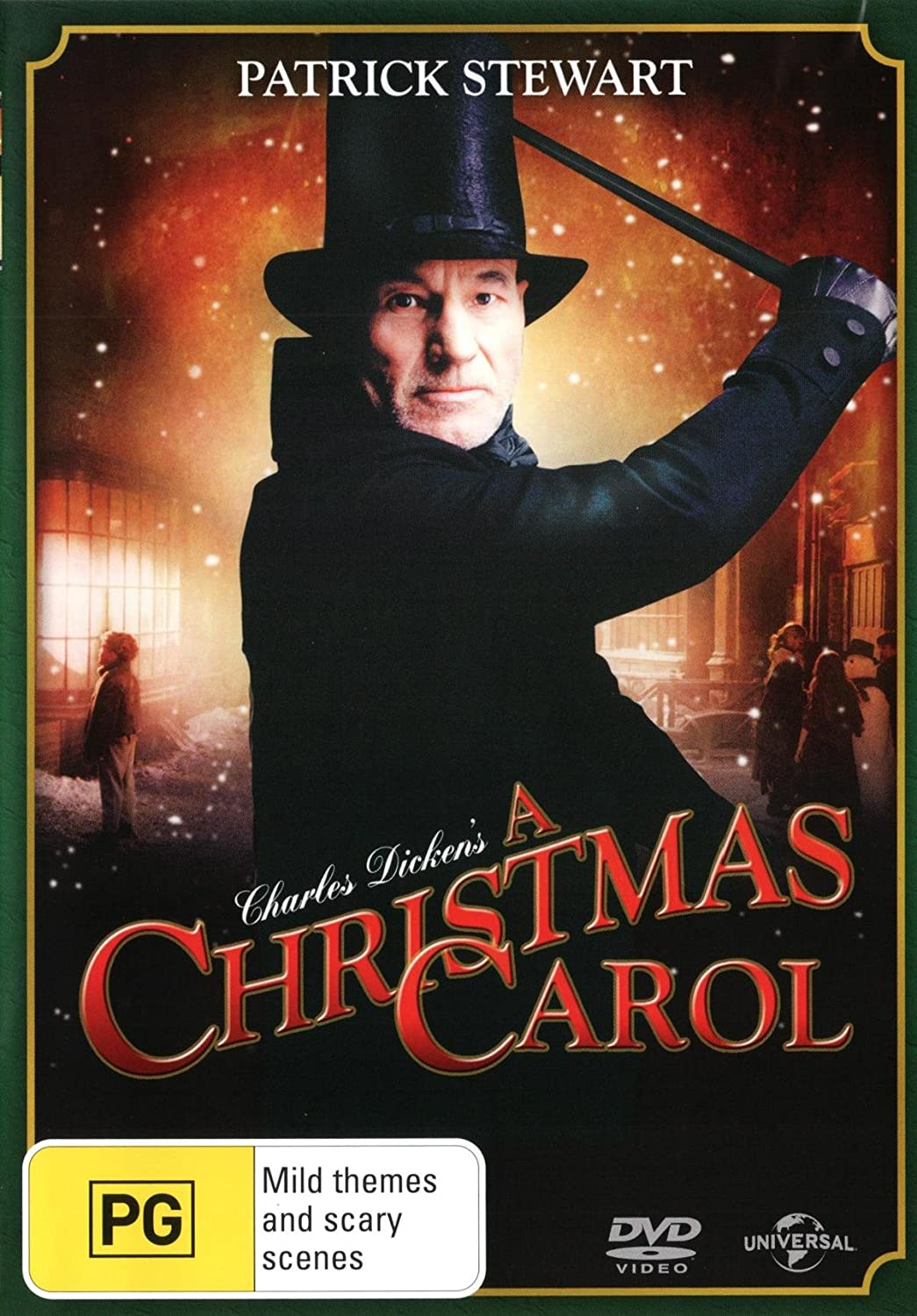 A Christmas Carol Patrick Stewart.Amazon Com A Christmas Carol Patrick Stewart Non Usa Format Pal Region 4 Import Australia Joel Grey Richard E Grant Ian Mcneice Patrick Stewart David Jones Movies Tv