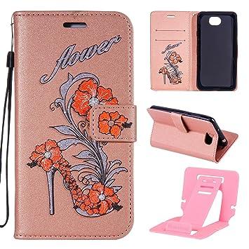 Case Huawei Y5 II Flip, Huawei Y6 II Compact Leather: Amazon co uk