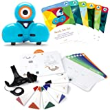 Wonder Workshop Dash Robot with Dash Challenge Cards and Sketch Kit Bundle, Multicolor (Amazon Exclusive) – Coding Robot for Kids 6+ – Voice Activated – Navigates Objects– 5 Free Programming STEM Apps