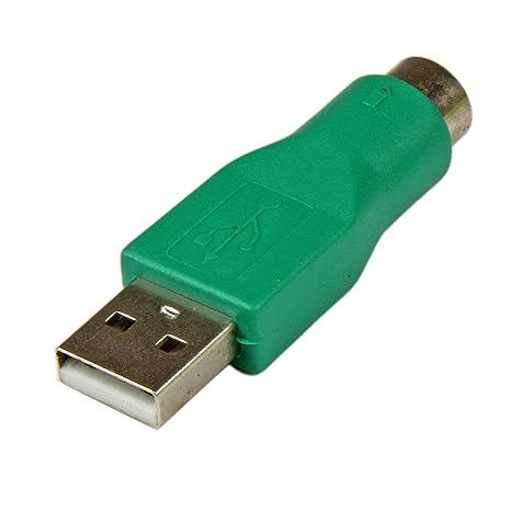 StarTech.com GC46MF - Adaptador Teclado o Ratón USB a Conector PS/2 MiniDIN