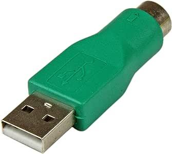 StarTech.com GC46MF - Adaptador teclado o ratón USB a conector PS/2 MiniDIN, verde: Amazon.es: Electrónica
