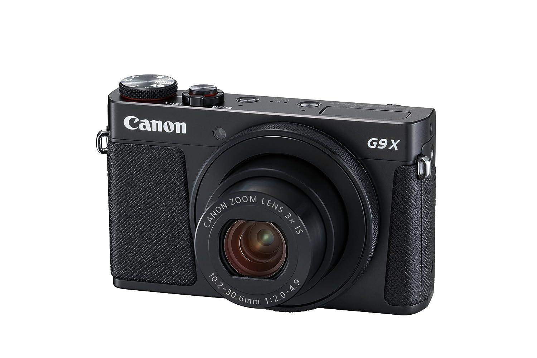 Canon PowerShot G9 X Mark II Digital Camera - Black: Amazon.co.uk: Camera &  Photo