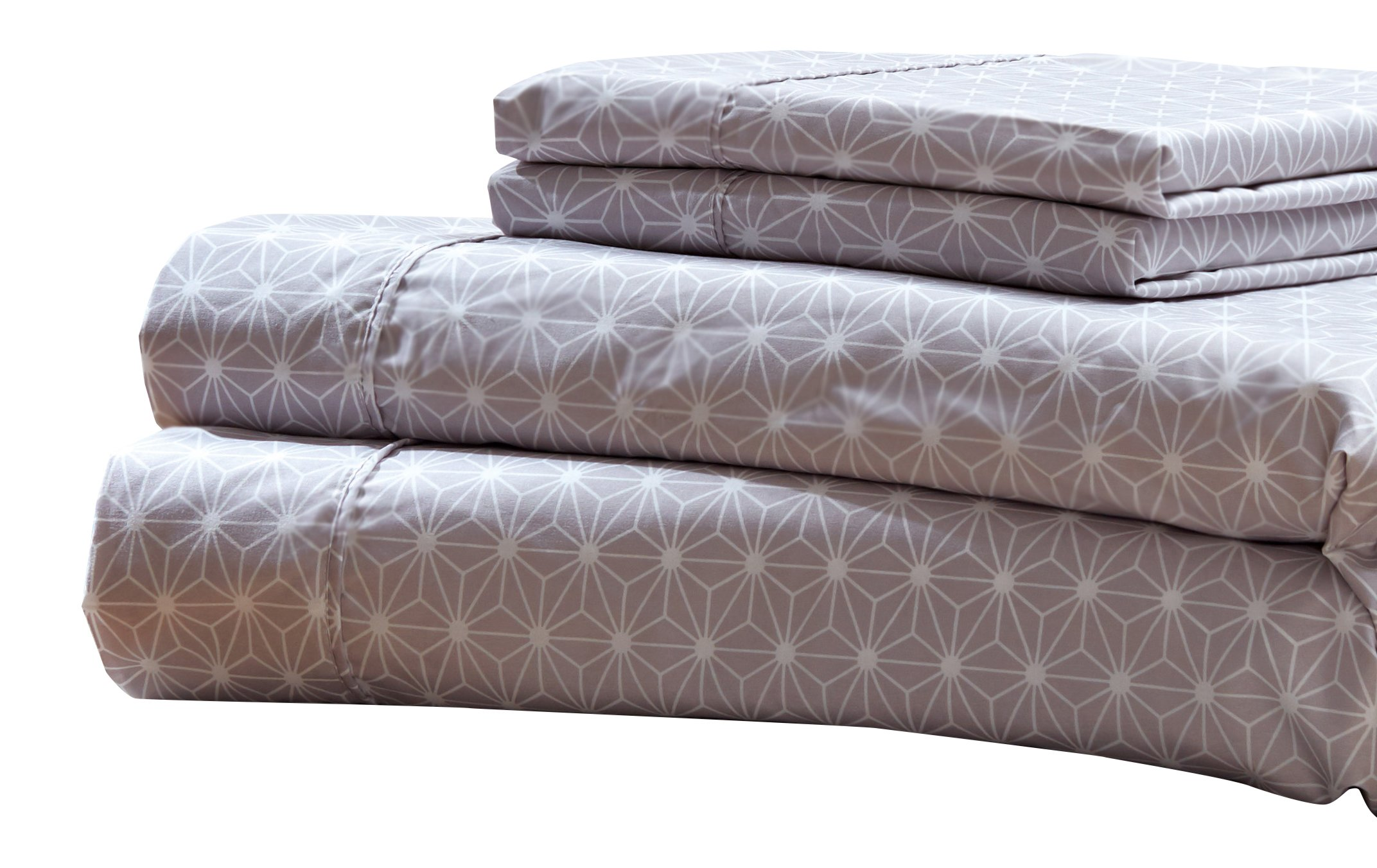 RT Designers Collection Solar Printed 4-Piece Sheet Set, Full