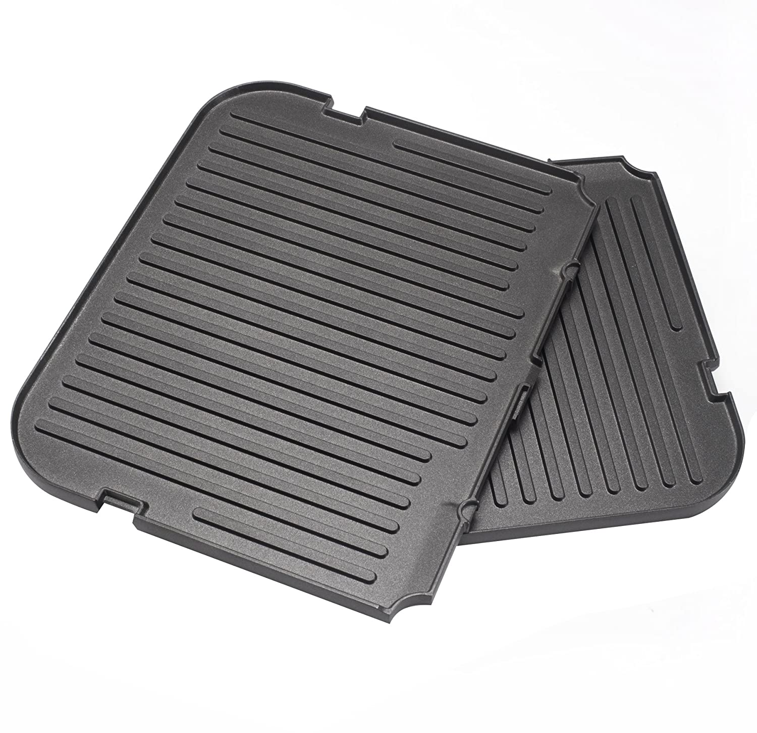 UsKitchen Reversible Grill/Griddle Plate for Cuisinart Griddler GR-4N 5-in-1