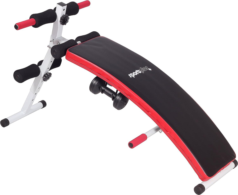 SportPlus Sit-Up Bank inkl. 2 x 1,5kg Hanteln bei amazon kaufen