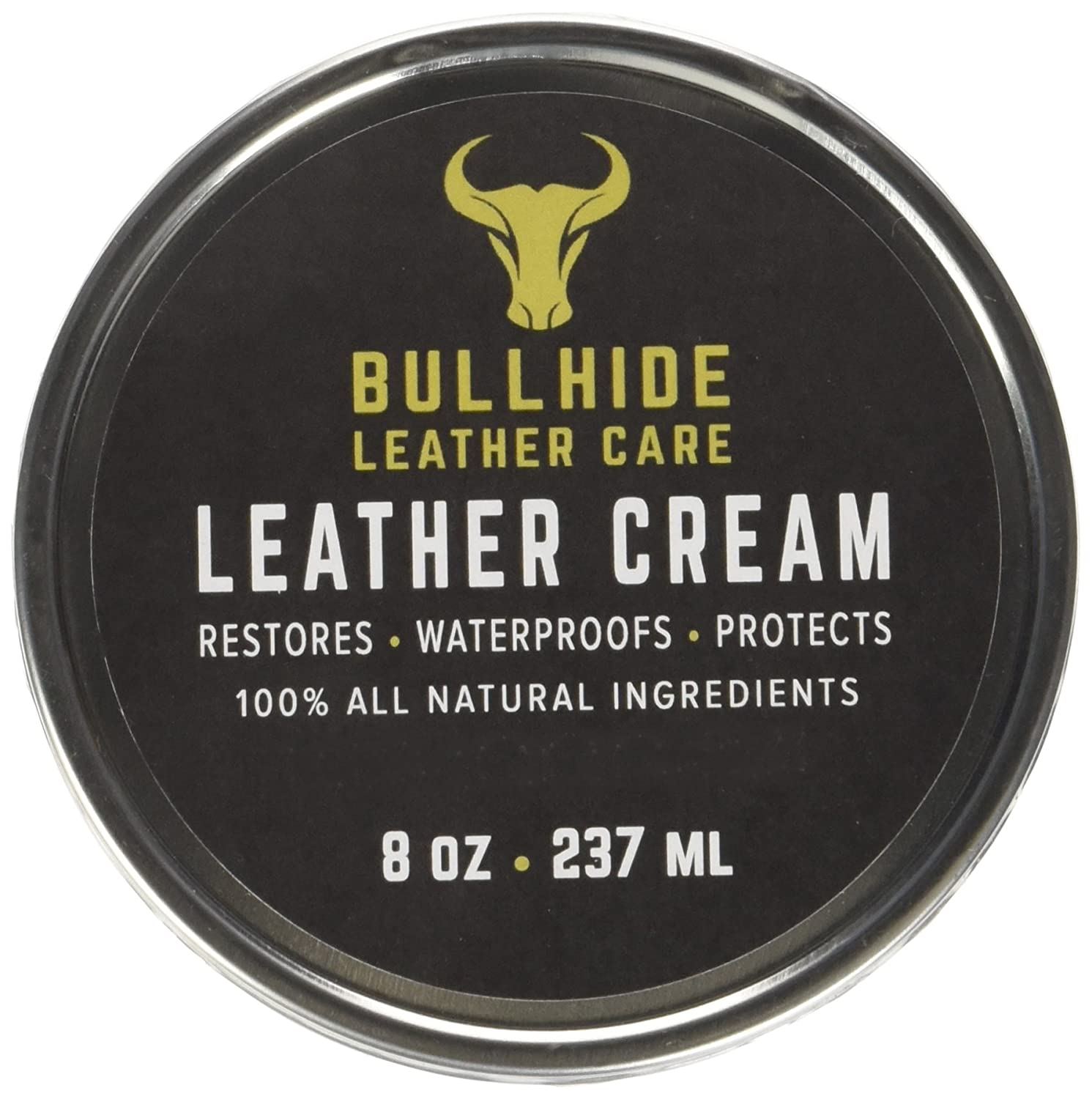 Bullhide Leather Care X00140RSU1-8oz Leather Cream, 8 oz DropForge Leather Care