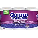 Quilted Northern Ultra Plush Toilet Paper, Pack of 6 Double Rolls, Equivalent to 12 Regular Rolls--Packaging May Vary