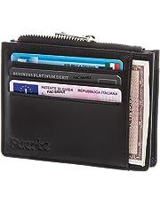 7574aed826 Portafoglio, FUERTE CARD, Porta Carte di Credito con Protezione Rfid, Porta  Tessere Uomo