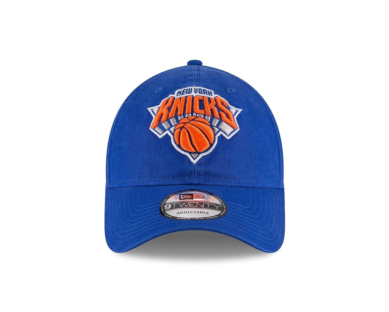 4f27530489c Amazon.com  NBA New York Knicks Adult Men NBA Core Classic 9Twenty  Adjustable Cap
